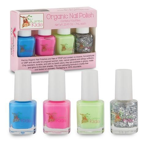 Karma Organic Spa - Karma Kids - Organic Nail Polish Set 1 - Two Little Birds Boutique