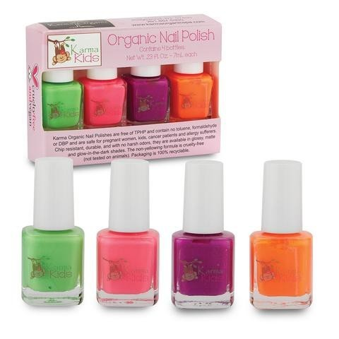 Karma Organic Spa - Karma Kids - Organic Nail Polish Set 2 - Two Little Birds Boutique