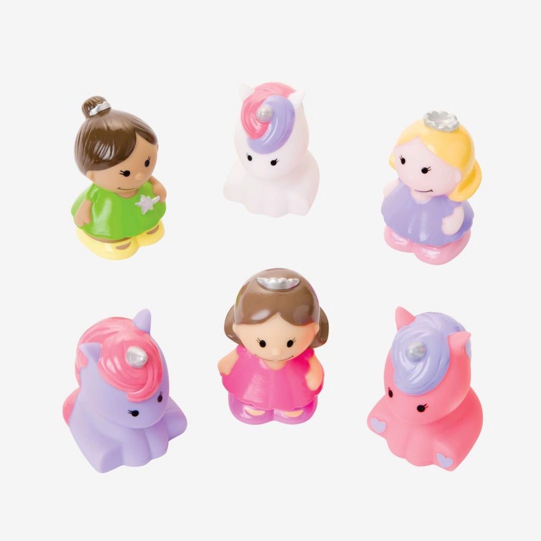 Elegant Baby - Squirtie Bath Toys - Princess Party - Two Little Birds Boutique