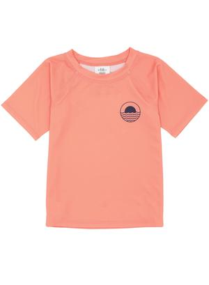 Feather 4 Arrow - Coral Crush Rash Top - Two Little Birds Boutique