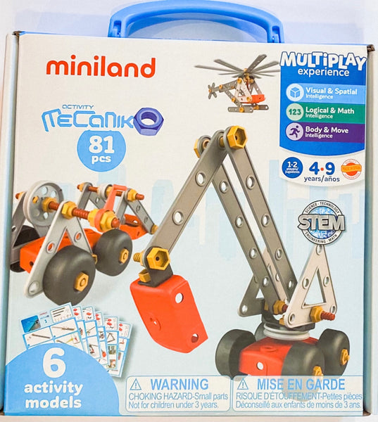 Miniland - Multiplay Experience Activity Set - Two Little Birds Boutique