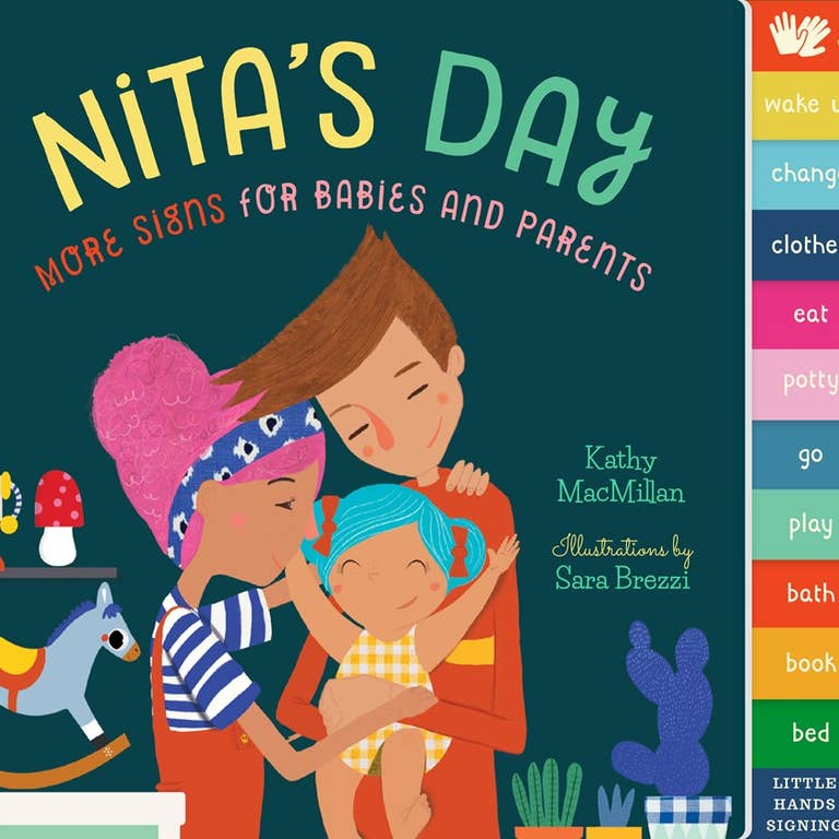 Nita's Day- Board Book - Two Little Birds Boutique