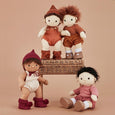 Olli Ella - Dinkum Doll - Snuggle Kit Doll Clothing - Toffee - Two Little Birds Boutique