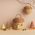 Olli Ella - Rattan Mushroom Basket Bag - Two Little Birds Boutique