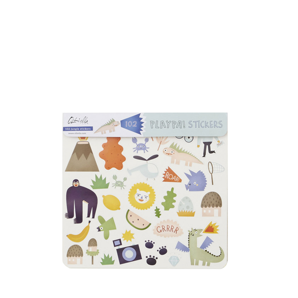 Olli Ella - Playpa Stickers - Jungle - Two Little Birds Boutique