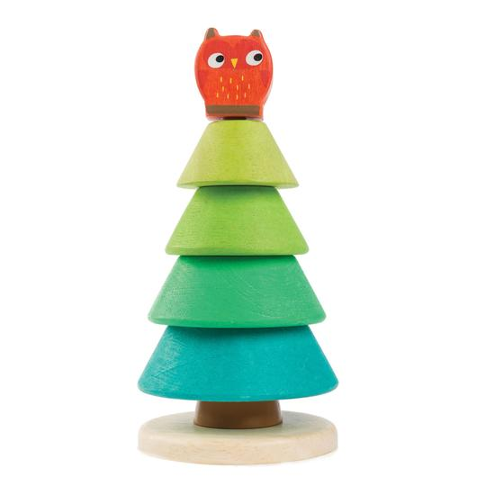 Tender Leaf Toys - Stacking Fir Tree - Two Little Birds Boutique