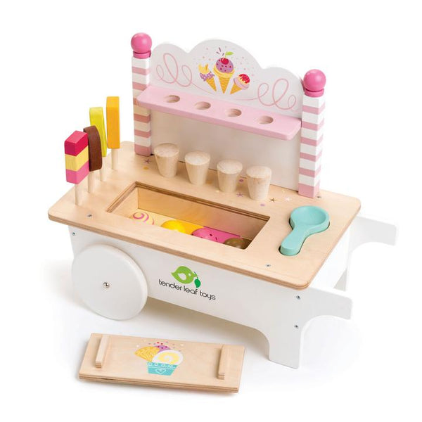 Tender Leaf Toys - Ice Cream Cart - Two Little Birds Boutique