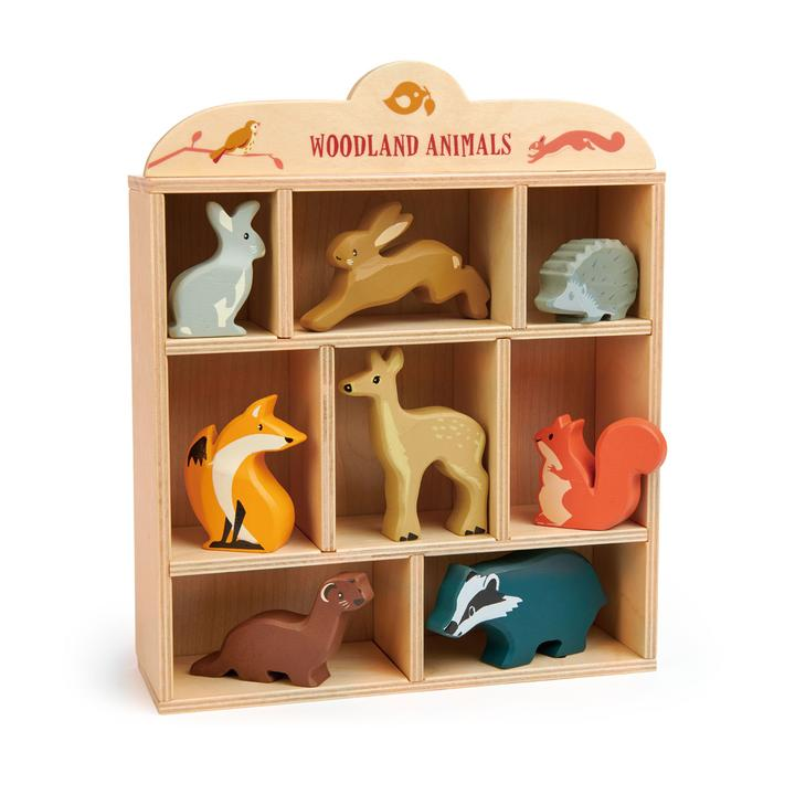 Tender Leaf Toys - Wooden Woodland Animal Set