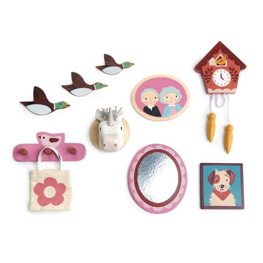 Tender Leaf Toys - Wall Décor for Doll Houses - Two Little Birds Boutique