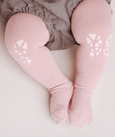 Olie the Curious - Pink Butterflies Crawling Tight - Two Little Birds Boutique