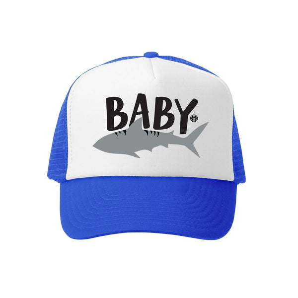 Grom Squad Baby Shark Trucker Hat - Two Little Birds Boutique
