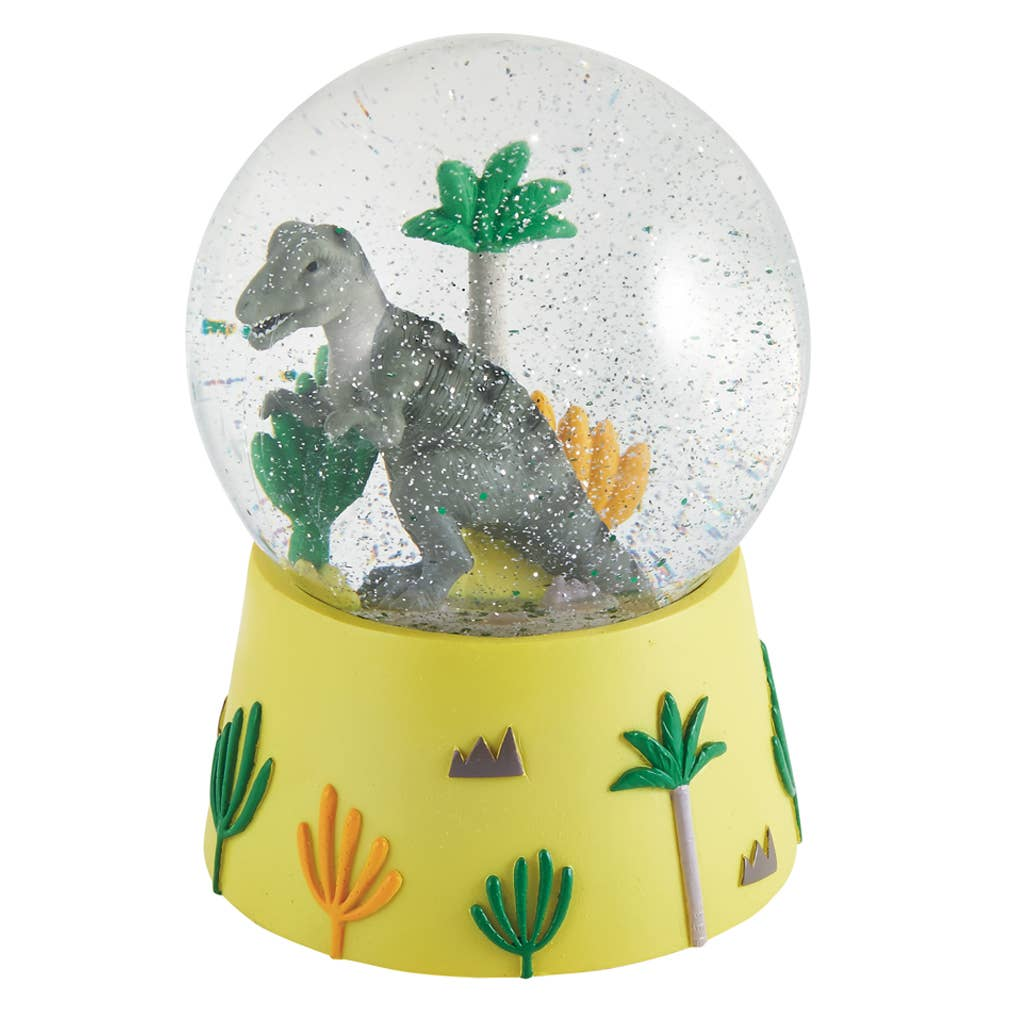 Floss and Rock - Musical Dino Snow Globe - Two Little Birds Boutique