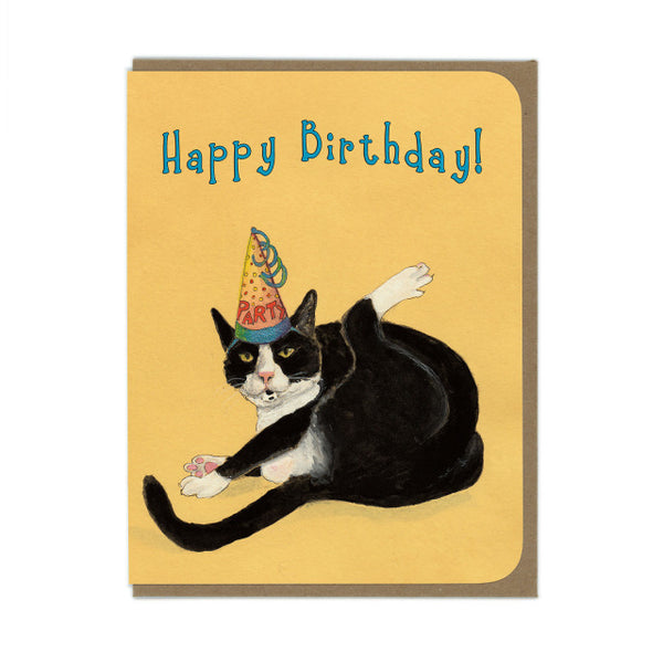 Amy Rose - Happy Birthday Cat Card - Two Little Birds Boutique