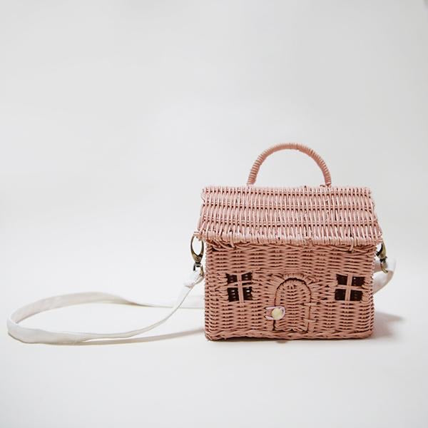 Olli Ella - Casa Bag - Rose - Two Little Birds Boutique