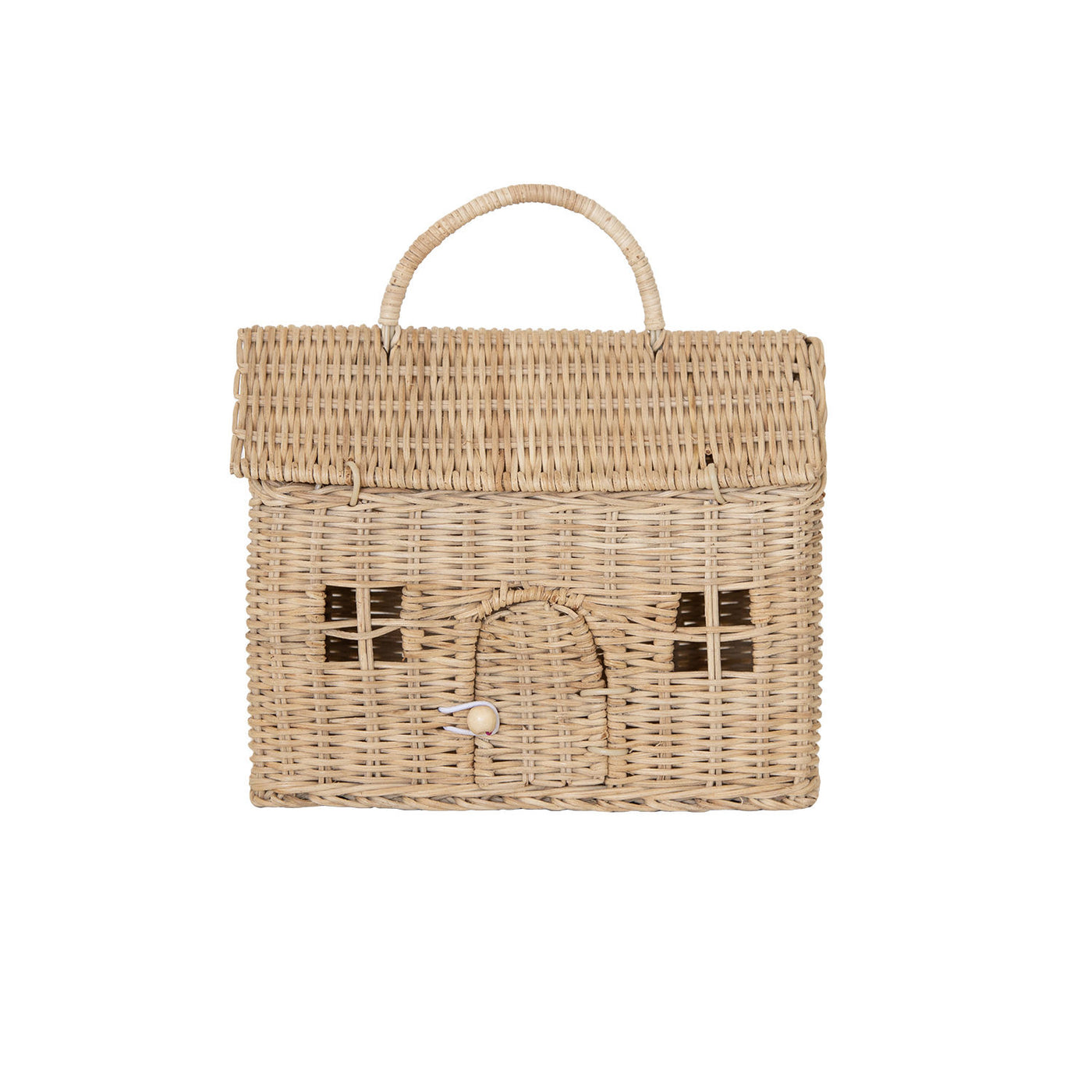 Olli Ella - Casa Clutch - Straw - Two Little Birds Boutique