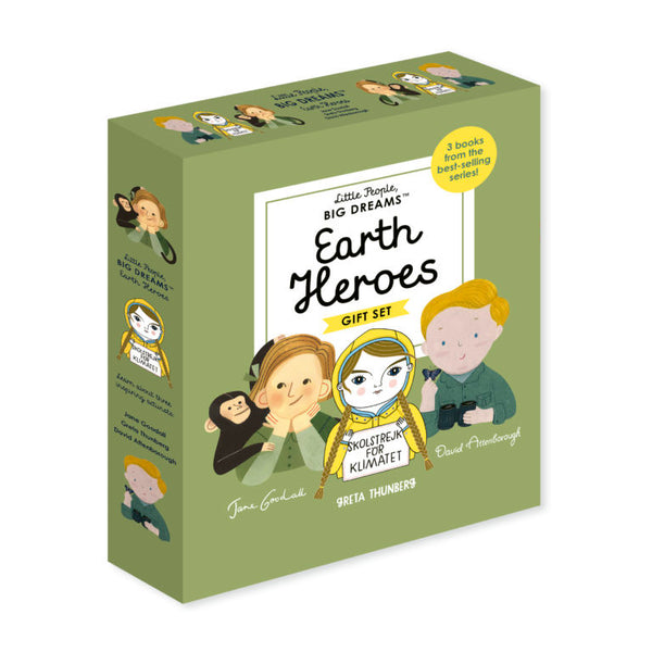 Little People Big Dreams Earth Heroes Books - Two Little Birds Boutique