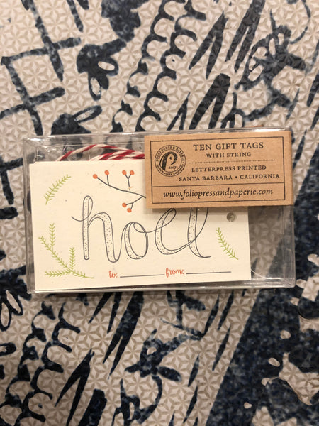 Folio Press - Noel - Ten Gift Cards - Two Little Birds Boutique