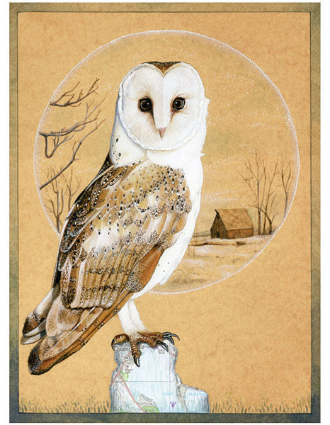 Amy Rose - Owl Card - Two Little Birds Boutique