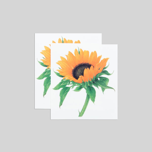 Tattly - Sunflower Tattoo - Two Little Birds Boutique