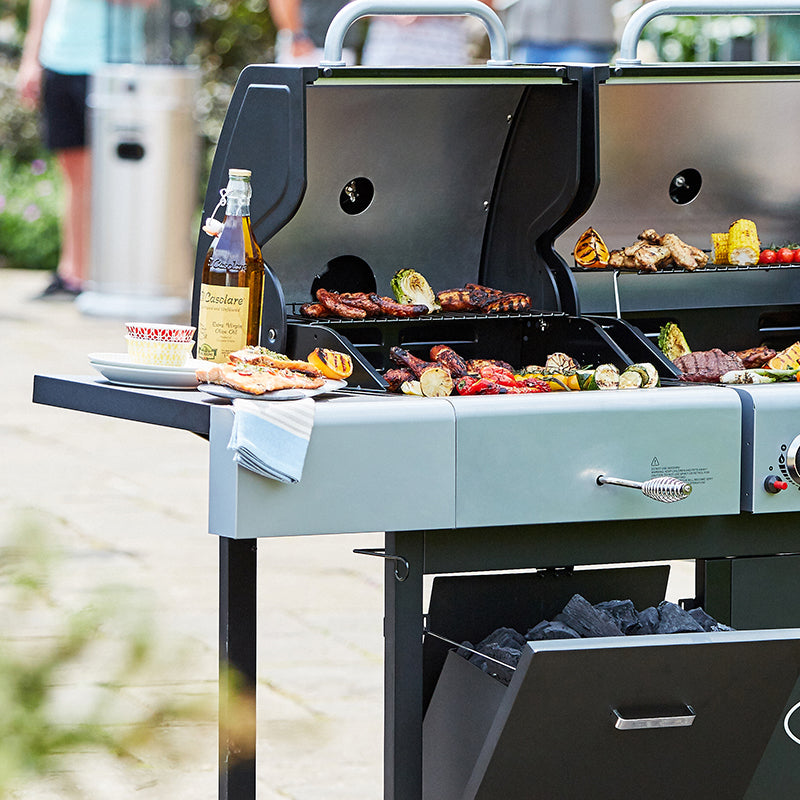 How to maximize your Dual Fuel 2 Burner BBQ