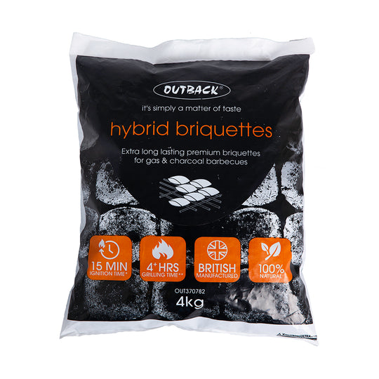How to use Outback Hybrid Briquettes on your Outback Hybrid Gas BBQ
