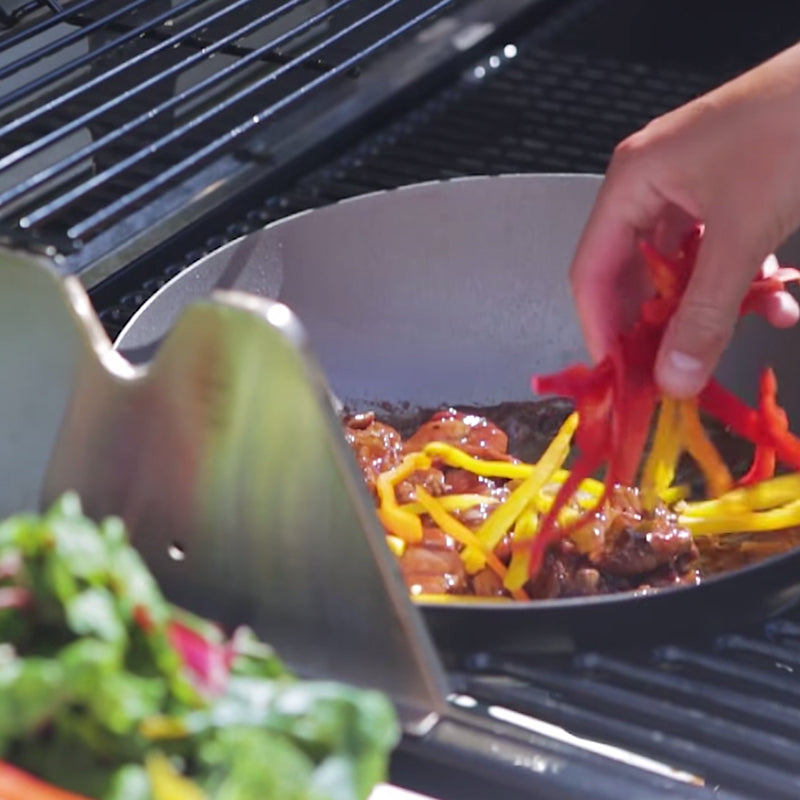How to use Outback Multi Cooking Surface Wok