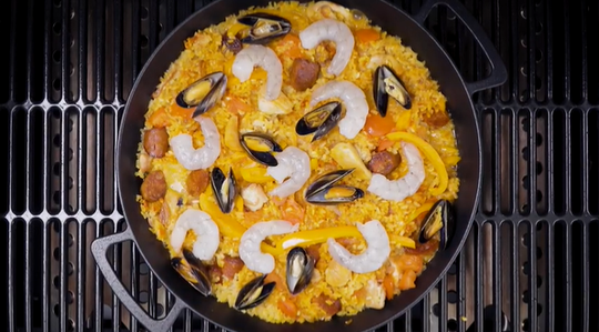 How to use Outback Multi-Cooking Surface Paella Pan