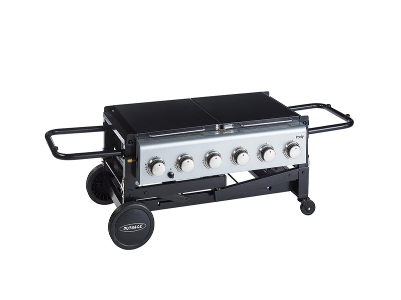 Party 6 Burner - Black