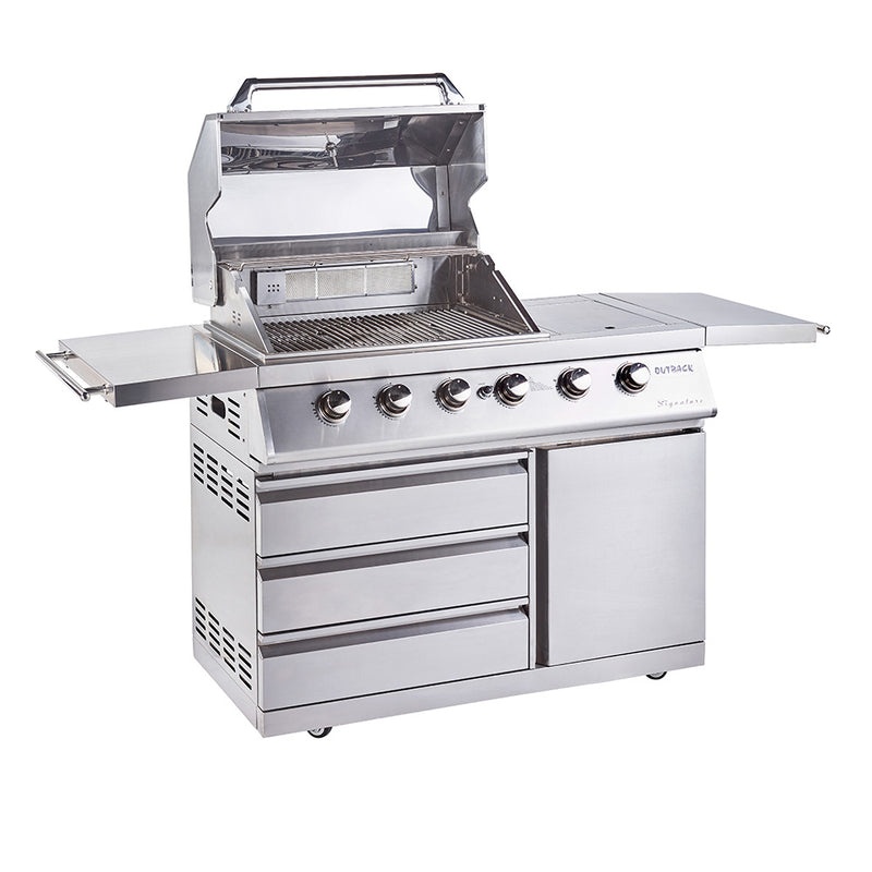Signature II 4 Burner Hybrid - Stainless Steel