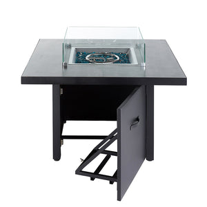 NEW Kensington Gas Fire Pit Table - OUT370773