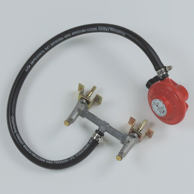 Omega Hose and Regulator for models Without side burner