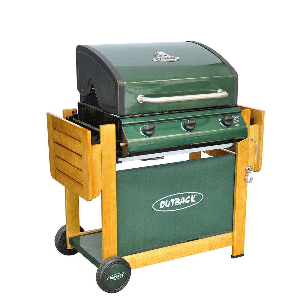 Hunter 3 Burner - Green