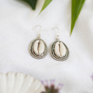 Cowrie sands earrings