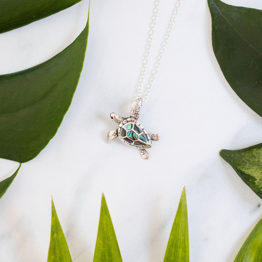 Bali Turtle Necklace