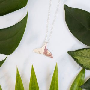 Wild about whales necklace