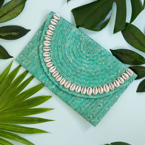 Boho Batik clutch bag - Tahiti
