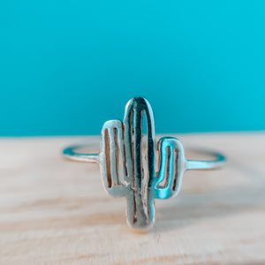 Cactus love ring