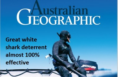 Great white shark deterrent almost 100 per cent effective