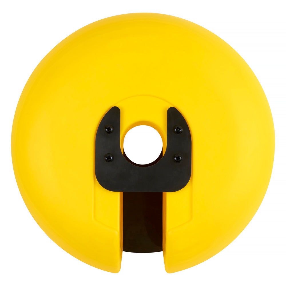 BOAT01 Buoy with Mounting Bracket - Yellow