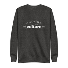 "Load image into Gallery viewer, ""Outside For The Culture"" Unisex Sweatshirt"