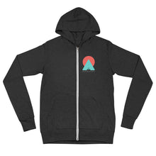 "Load image into Gallery viewer, ""We All Belong"" Unisex Zip Hoodie"