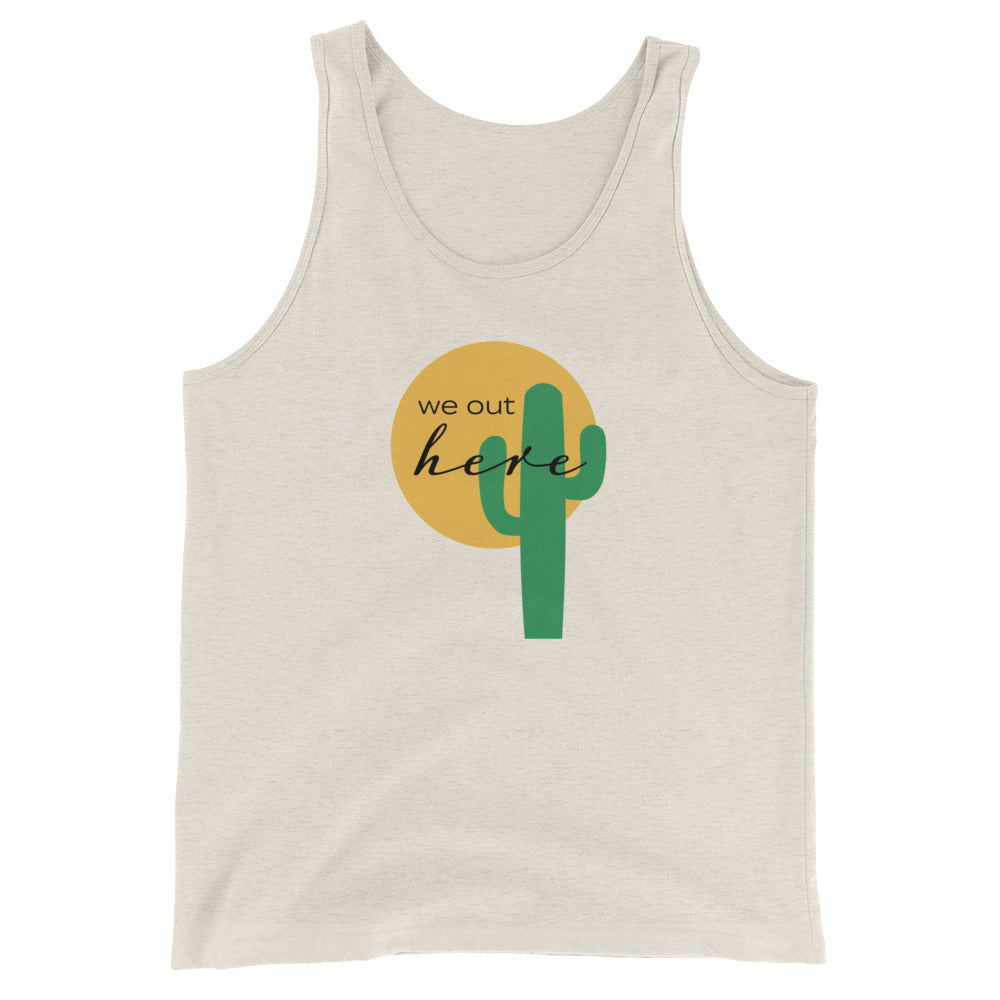 """We Out Here"" Fellas' Tank"