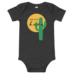 """We Out Here"" Lil' Onesie"