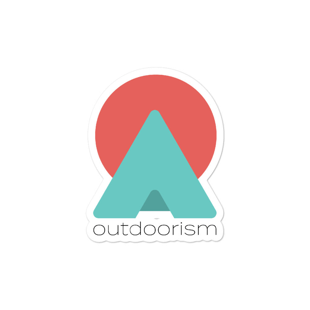 """Outdoorism"" Sticker"