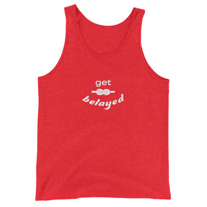 """Get Belayed"" Fellas' Tank"