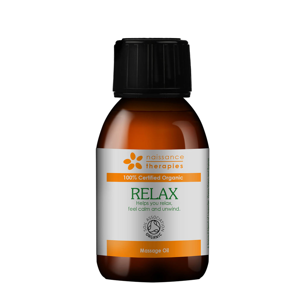 Relax Massageöl BIO – Naissance Therapies – 100ml