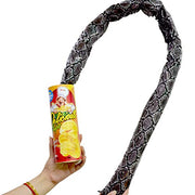Blppldyci The Potato Chip Snake Can Jump Spring Snake Toy Gift April Fool Day Halloween Party Decoration Jokes in A Can Gag Gift Prank Large Size (Potato Chip Style)(1pcs)