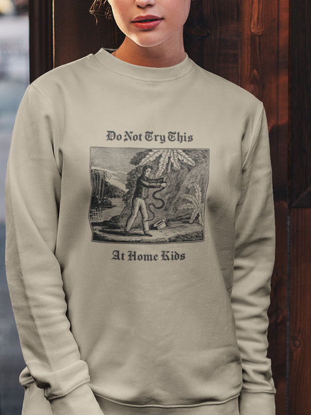 Don't Try This Sweatshirt