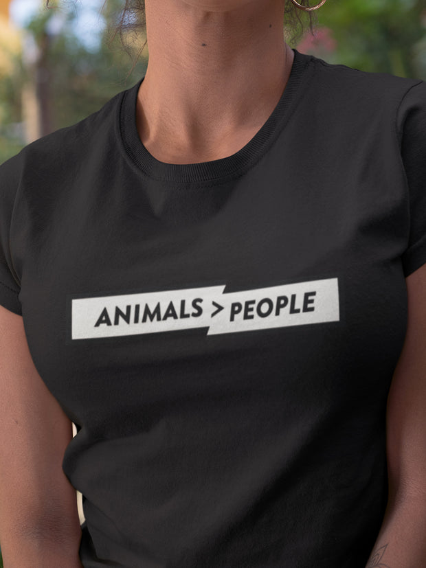 animals > people