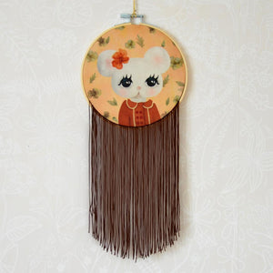 clara, small wall hoop - Dessin Design